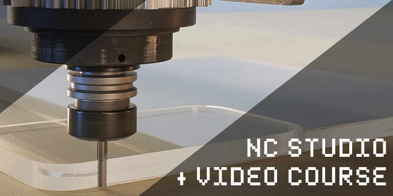 Unique NC Studio and CNC video course that will boost your work speed