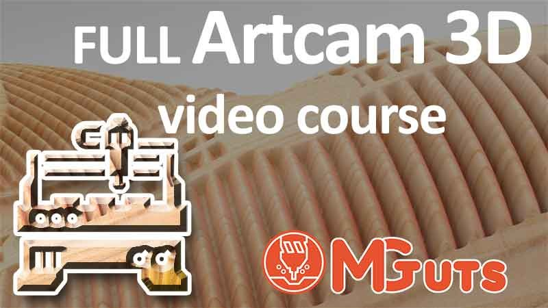 Full Artcam 3D modeling video course. How to create Amazing 3D arts in Artcam