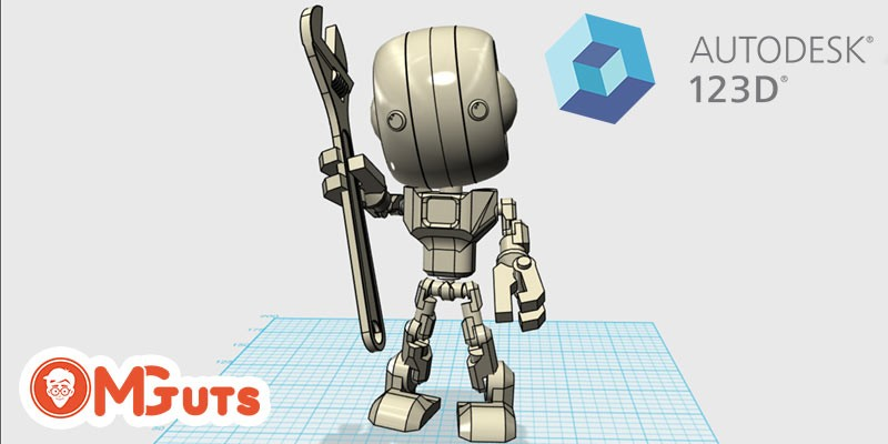 Autodesk 123D - Create and print your 3D models in 3D printers